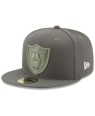 New Era Oakland Raiders Salute To Service 59FIFTY Fitted Cap - Brown 7 3 4 d293893c1