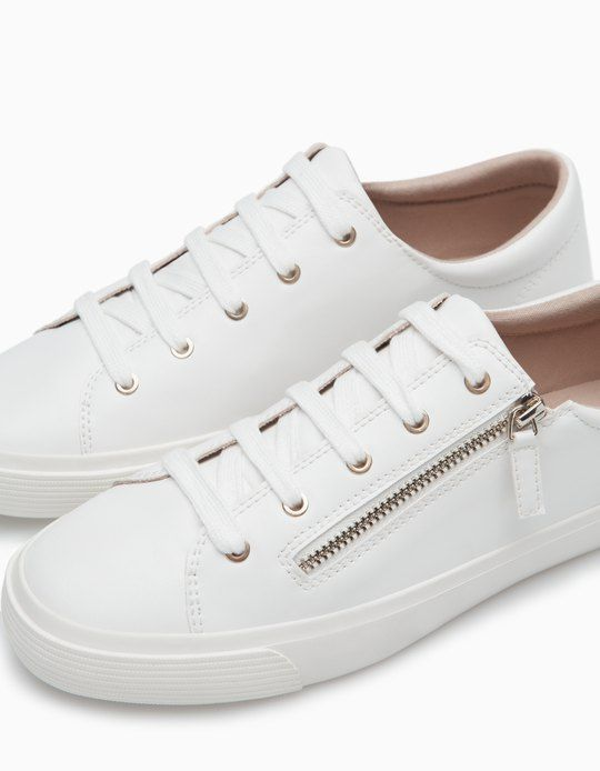 Plimsolls with zip detail - ALL - WOMAN  0e10ad8a0b9