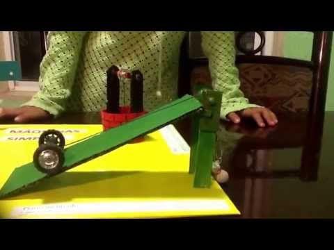 Maqueta de m quinas simples youtube maquinas for Polea para subir muebles