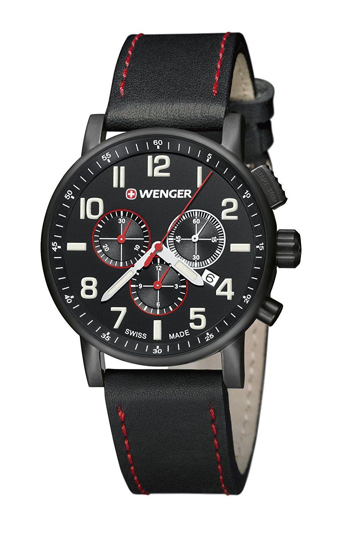 42bc84a7196d Reloj Wenger para Hombre 01.0343.104  Amazon.es  Relojes