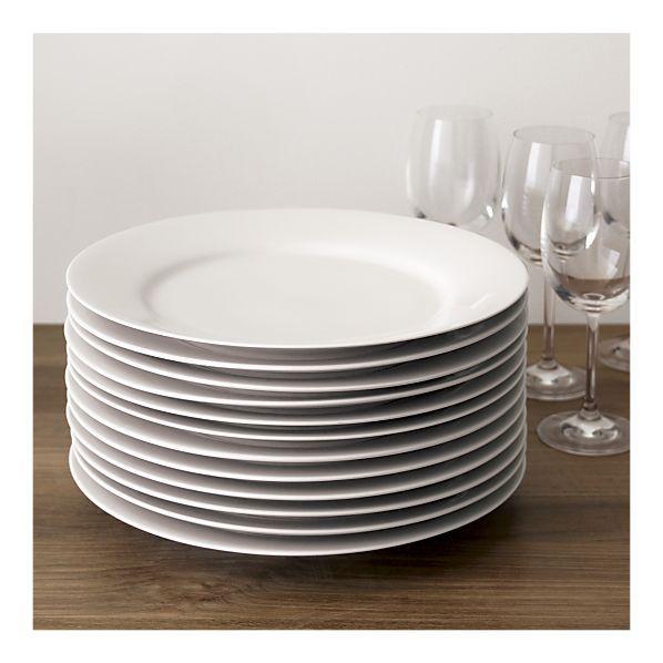 white dishware, $60 for 12