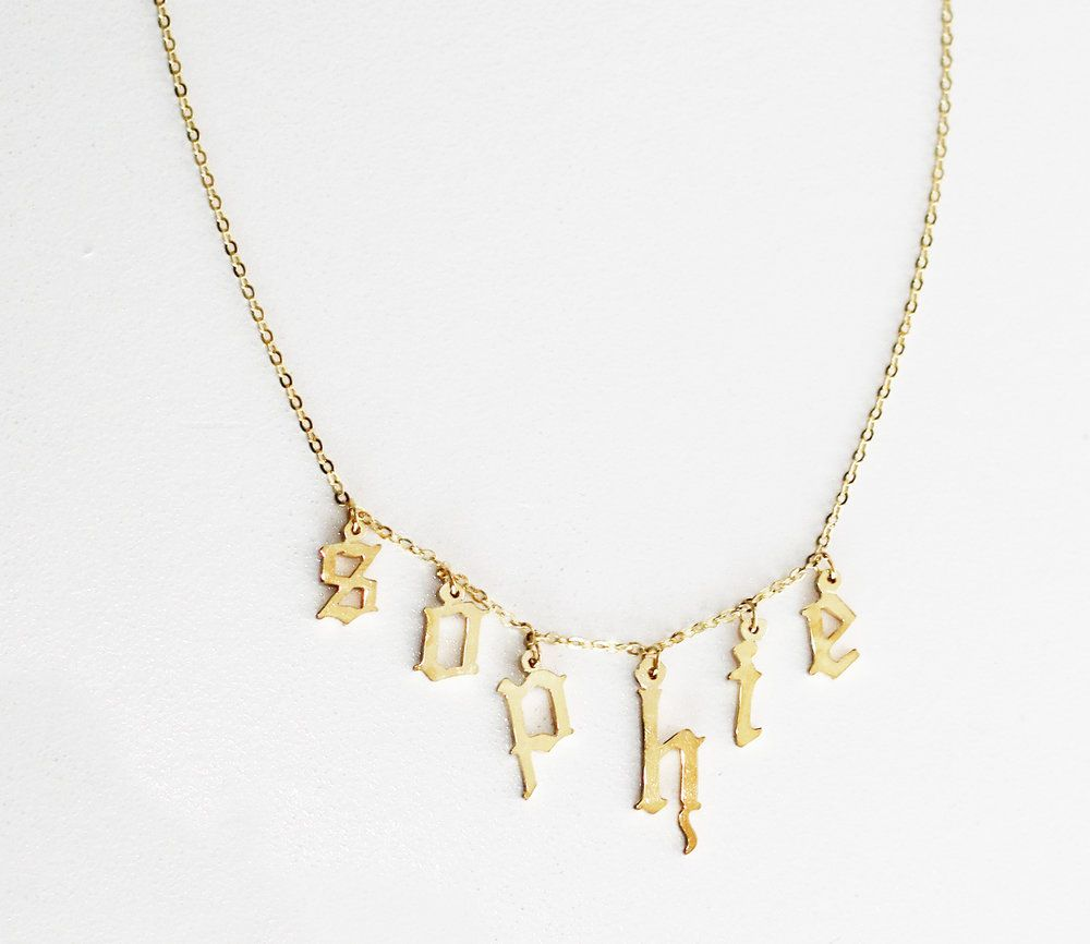 The Babygirl Gothic Choker in Metallic Gold The M Jewelers NY B8e1KO