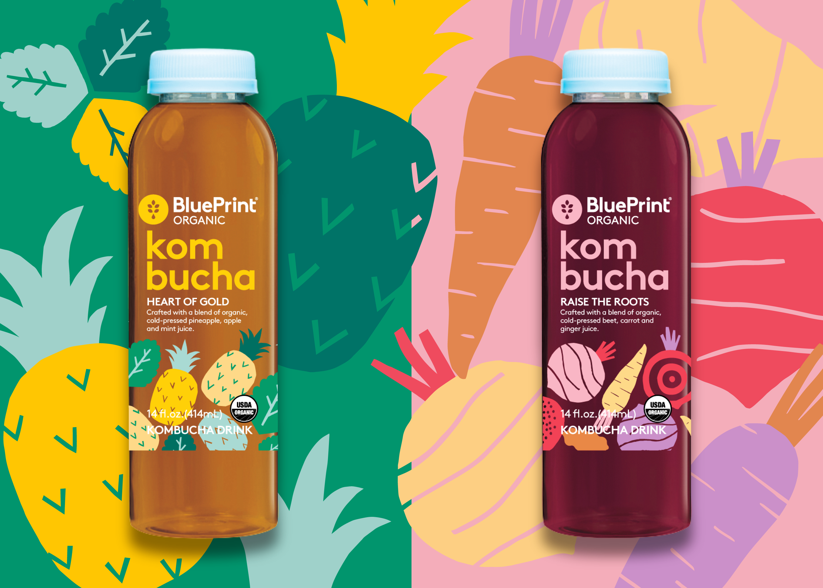 Illustration for a new line of kombucha drinks from blueprint the illustration for a new line of kombucha drinks from blueprint the illustrations are based on malvernweather Choice Image