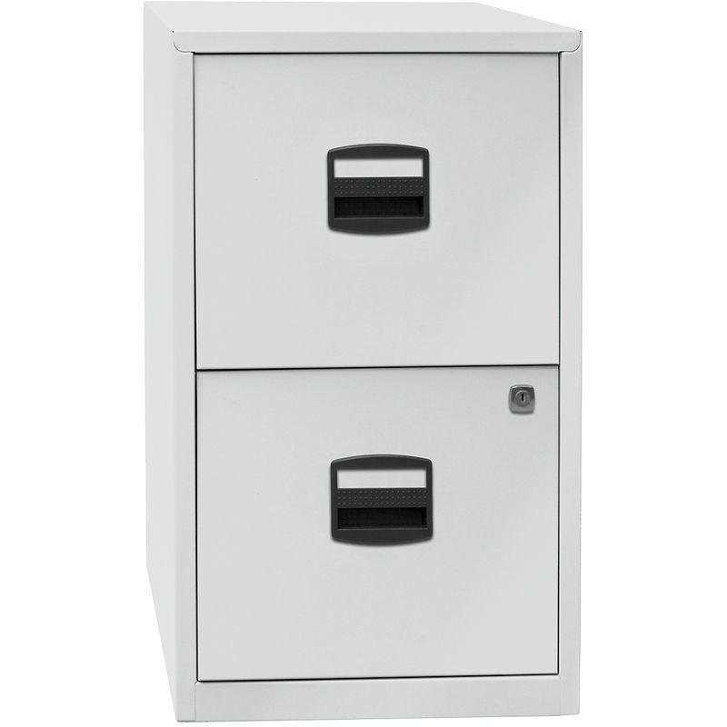 Bisley Home Classeur Pour Dossiers Suspendus Pfa 2 Tiroirs Gris Clair Pfa2645 Certeo Filing Cabinet Decor Home Decor