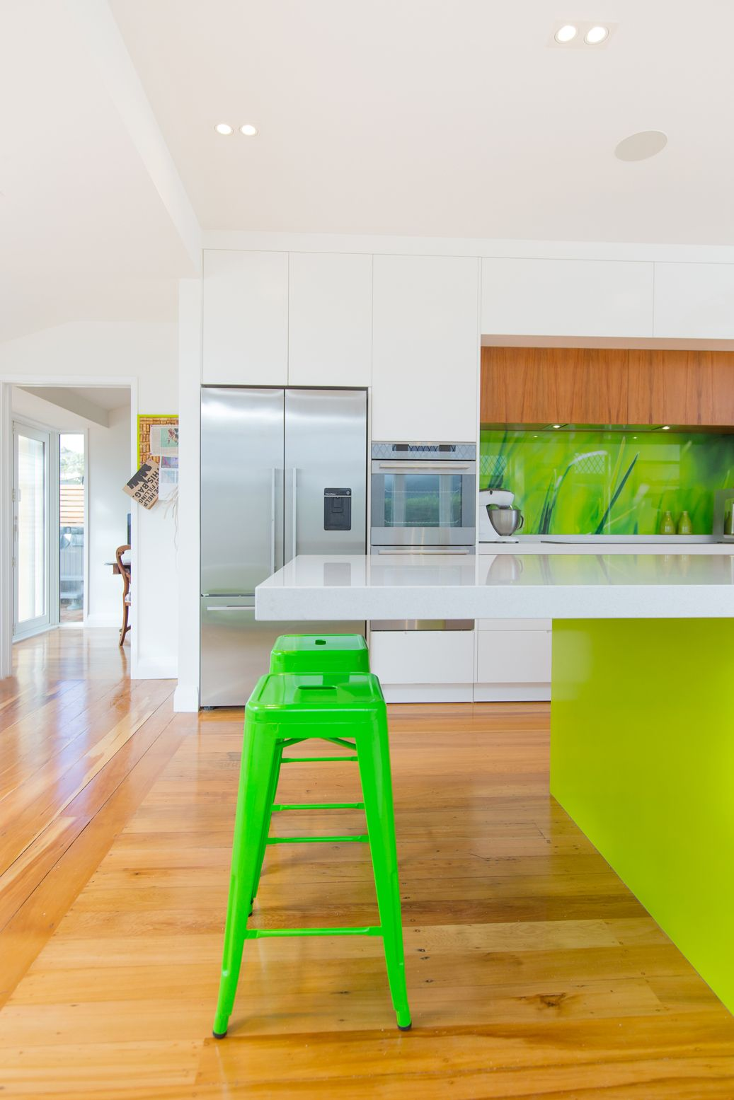 Kitchen 451. By Sally Steer Design, Wellington NZ. Cantilevered ...