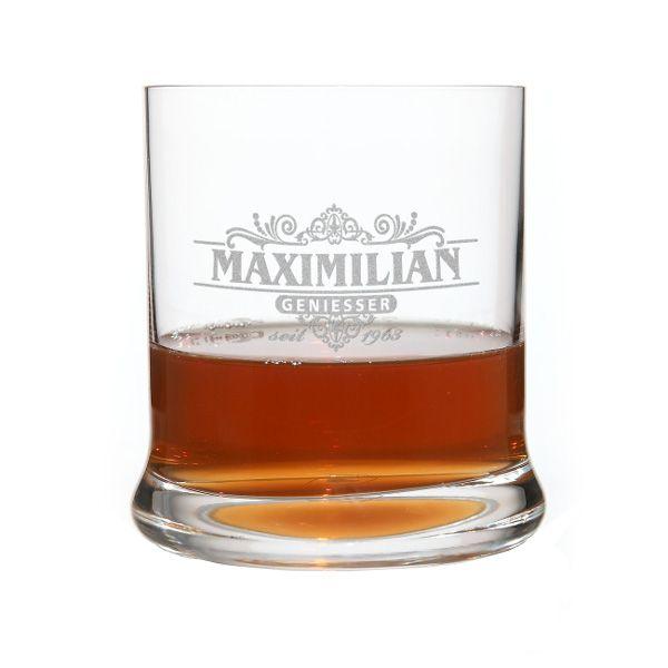 Originelle Geschenkideen - Gravur-Whisky-Glas