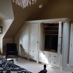 French Country Master Bedroom Renovation Traditional Bedroom