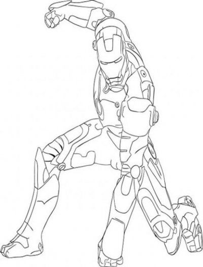 iron man best coloring pages