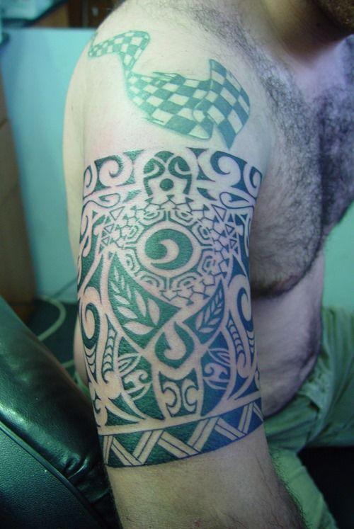 Tribal Armband Tattoo for Men Tattoos for Men Pinterest