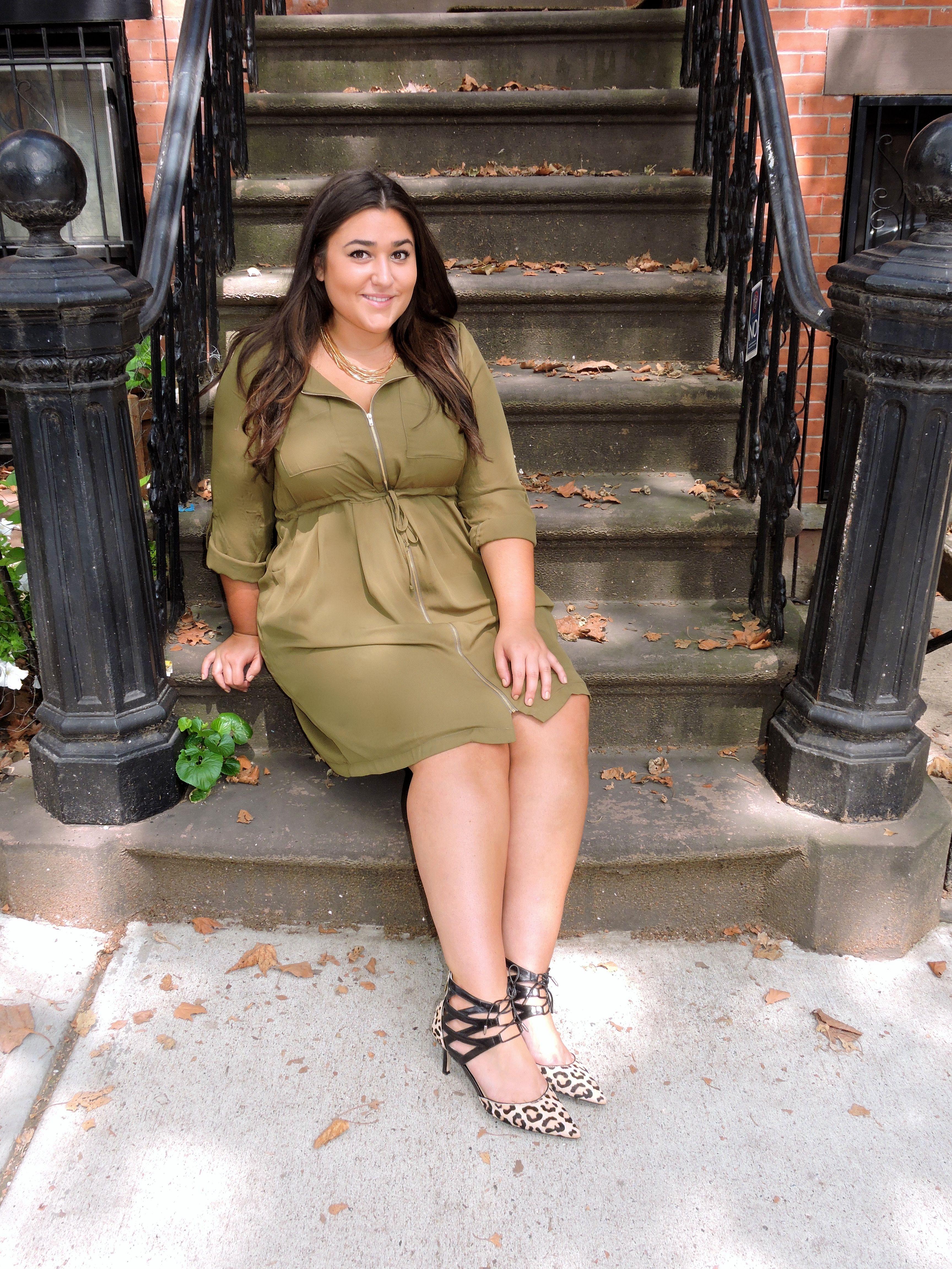 e774c85772a Fashion to Figure Plus Size Dress. Ivanka Trump Cheetah Heels.   BiancafromBrooklyn
