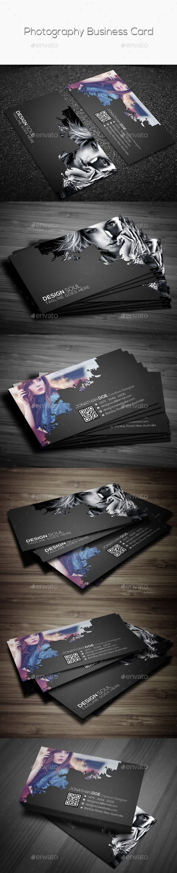 Photography business card photography business cards photography photography business card template design download httpgraphicriver reheart Gallery