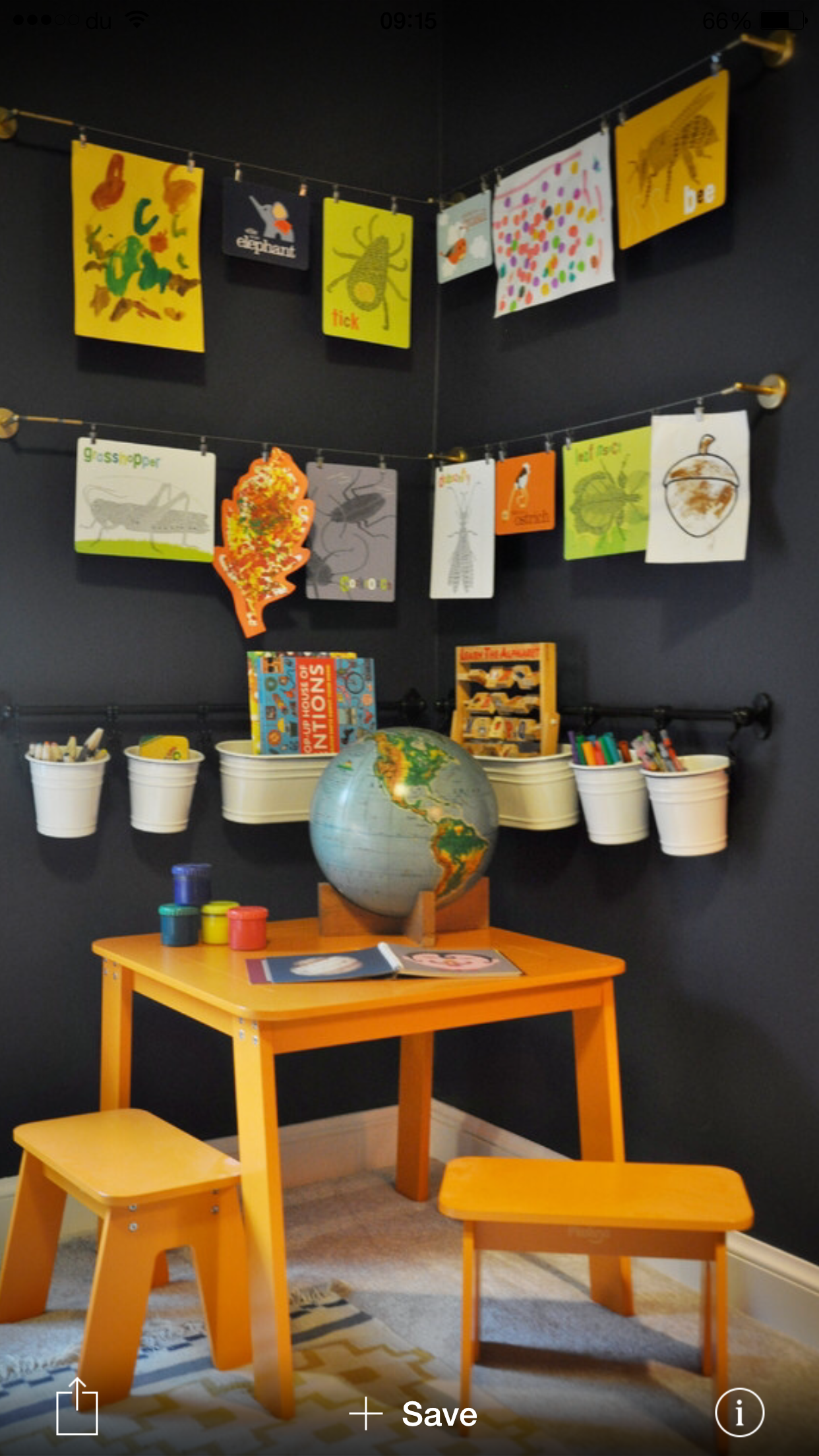 This Is How To Create A Creative Corner For Little Artists