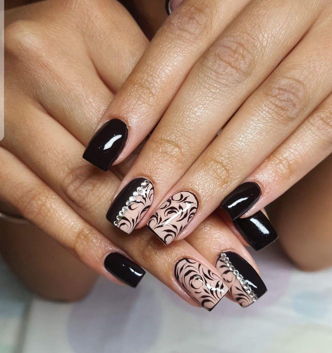 Pin de Mini Rodríguez en Uñas | Pinterest | Diseños de uñas, Arte ...