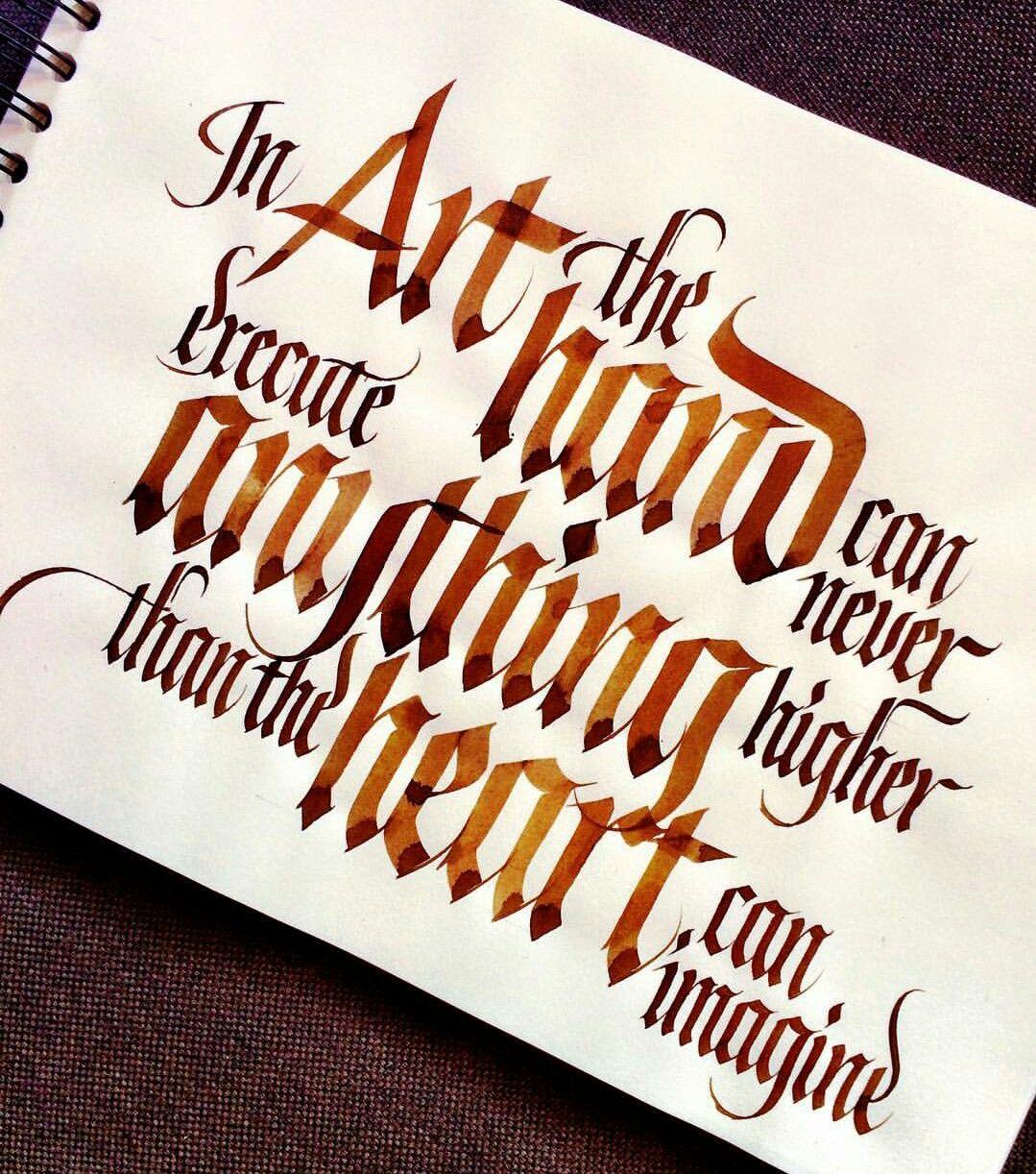 Citaten Creativiteit : Sachinsipiration zinnen pinterest kalligrafie