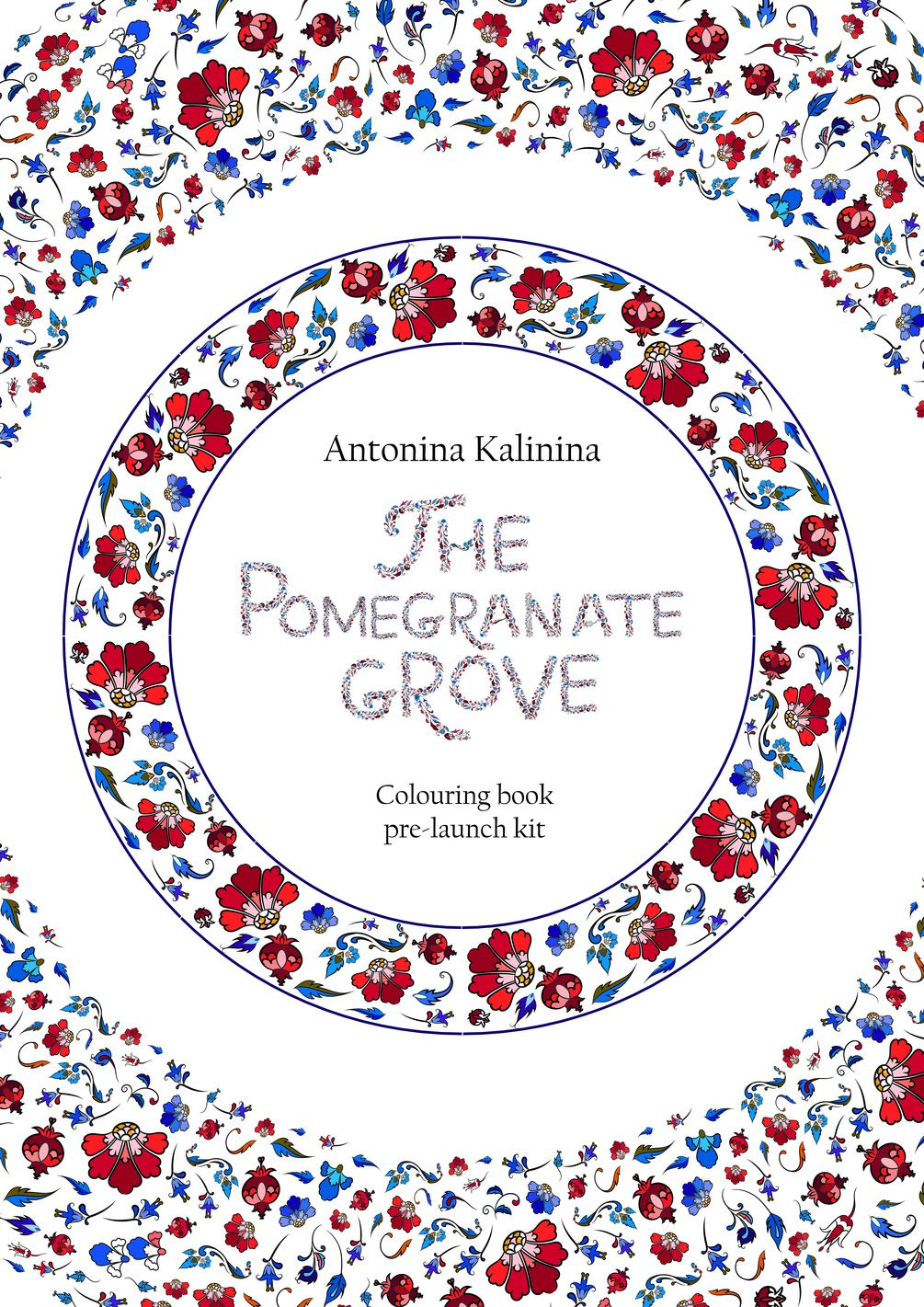 Coloring book software - The Pomegranate Grove A Colouring Book Pre Launch Samples Kit Two Intricate Colouring Pages