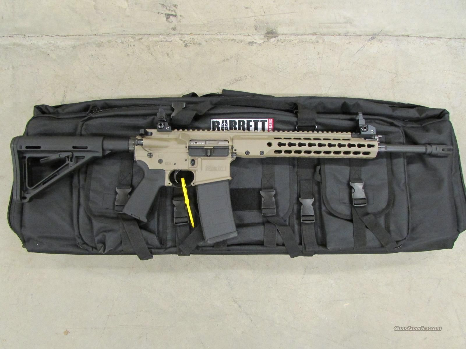 NEW BARRETT REC7 GEN II 16 FDE AR-15/M4 5.56 NATO  Guns > Rifles > Barrett Rifles Find our speedloader now!  http://www.amazon.com/shops/raeind