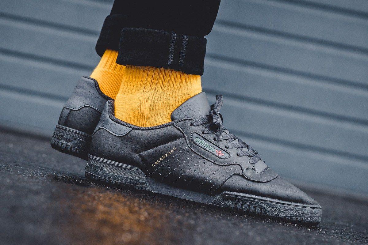 "a4416e2e5ee On-Foot  adidas Yeezy Powerphase ""Core Black"" - EU Kicks  Sneaker Magazine"