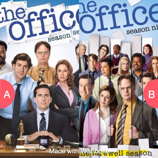 The Office with or without Michael Scott? Click here to vote @ http://getwishboneapp.com/share/1471516