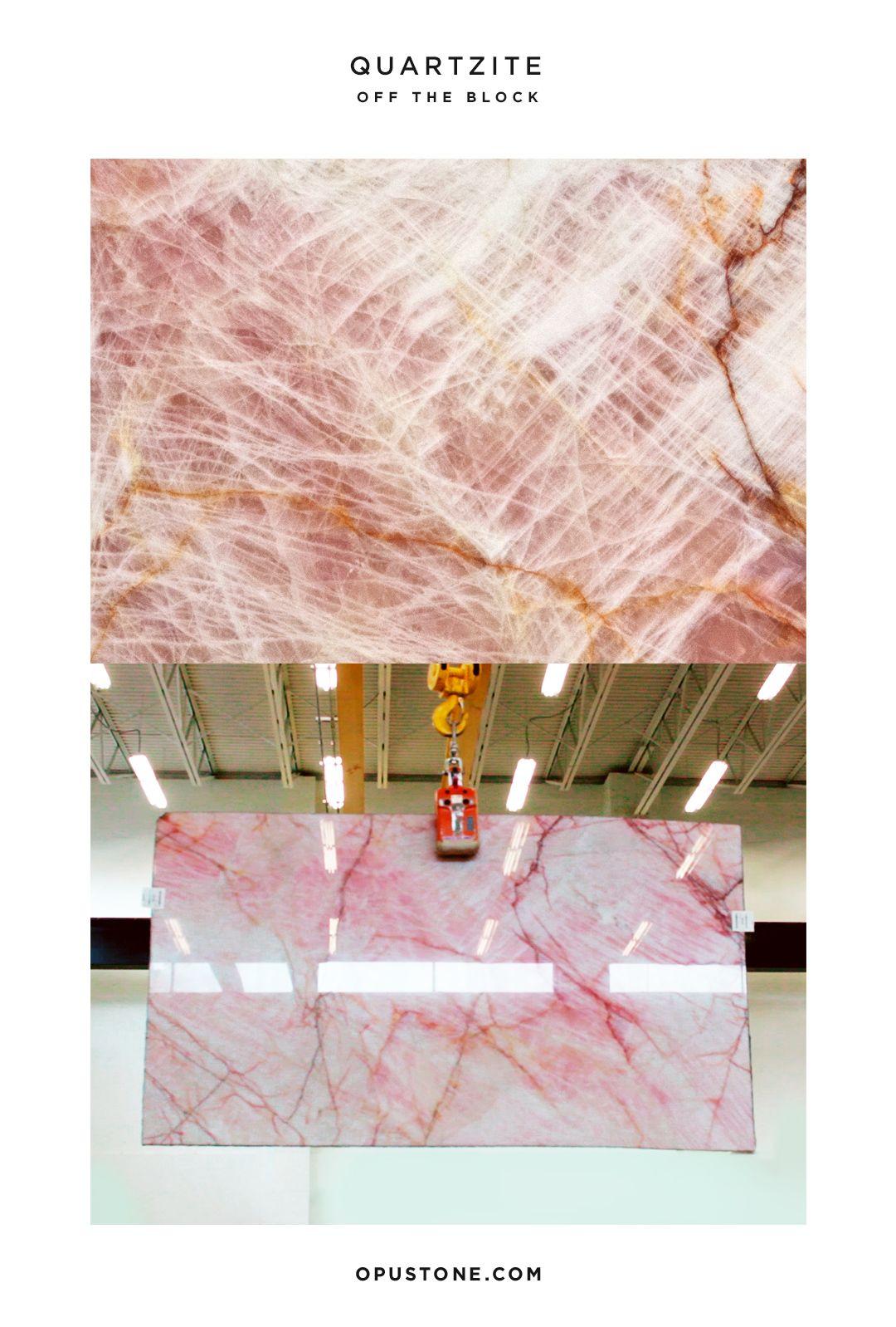 Experience La Vie On Rose With A Slab Like No Other Pink Rose Quartzite Slab Slabporn Slabs Opustone Pinkstone Sto Quartzite Pink Quartz Pink Stone