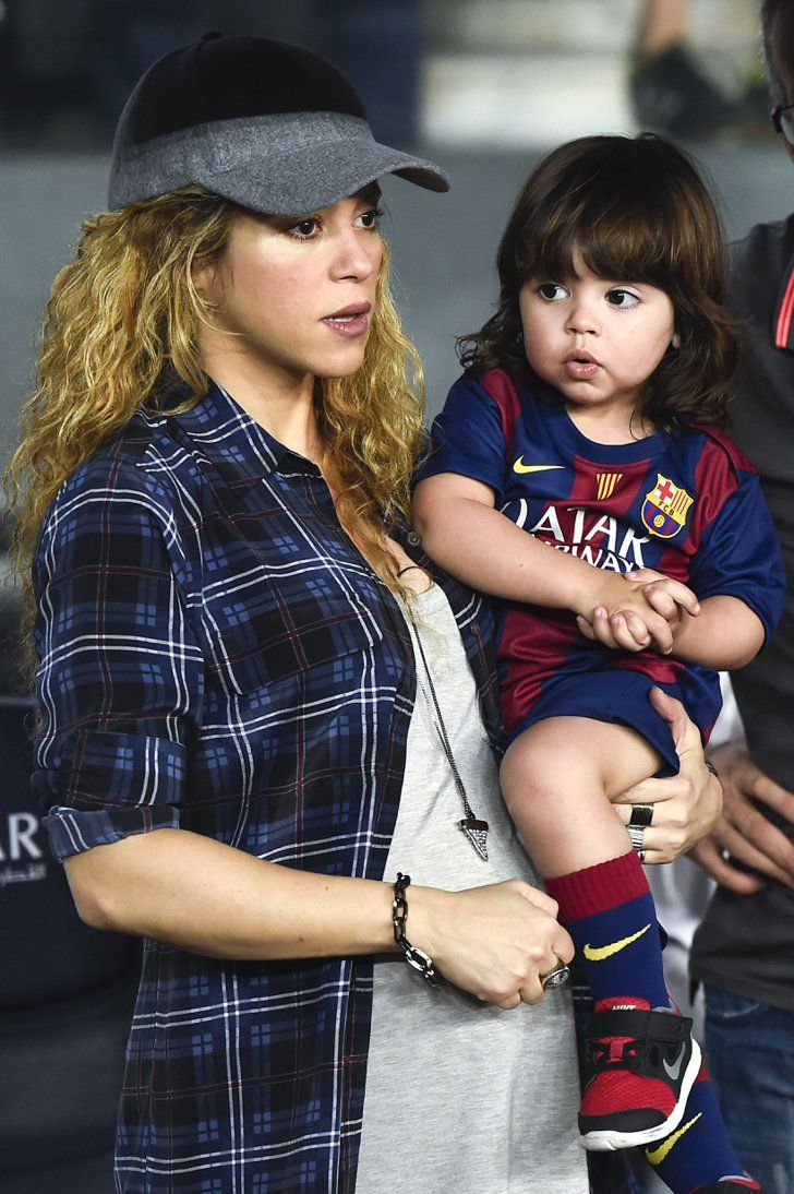 Pin for Later: 11 Celeb Babies We Can't Wait to Meet in 2015 Shakira The star has been showing off her growing belly as she gets ready for her second child with boyfriend Gerard Piqué.