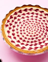 White Chocolate Raspberry Cheesecake - Cooking Classy #whitechocolateraspberrycheesecake