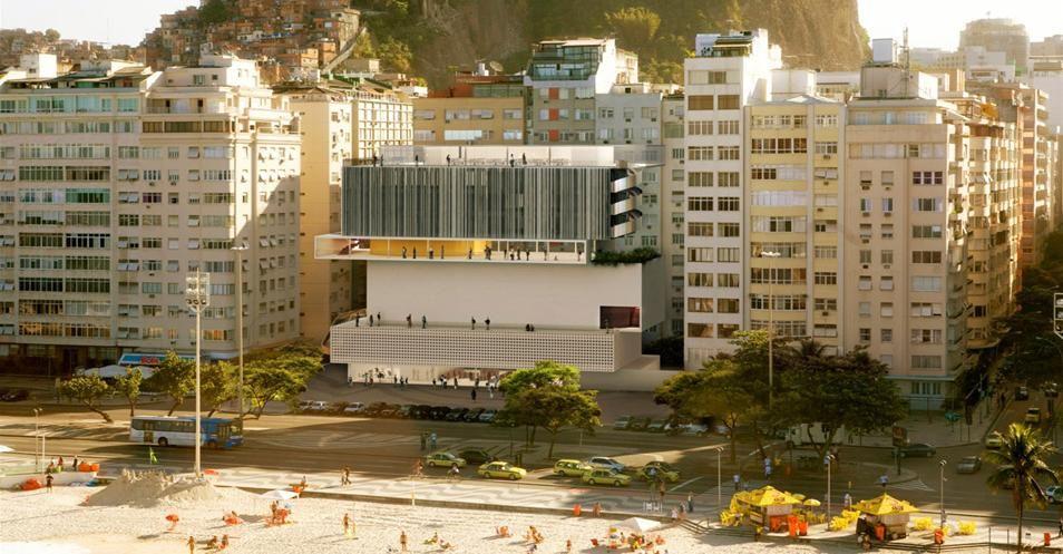 Isay Weinfeld - Concurso Internacional – Museu da Imagem e do Som – Rio de Janeiro