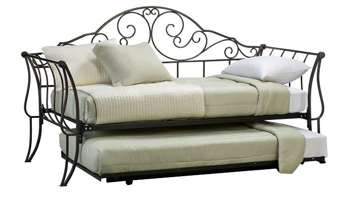toulouse collection daybed with pop up trundle ptop877. Black Bedroom Furniture Sets. Home Design Ideas
