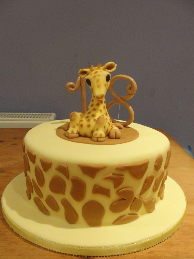 Giraffe Cake Decorations
