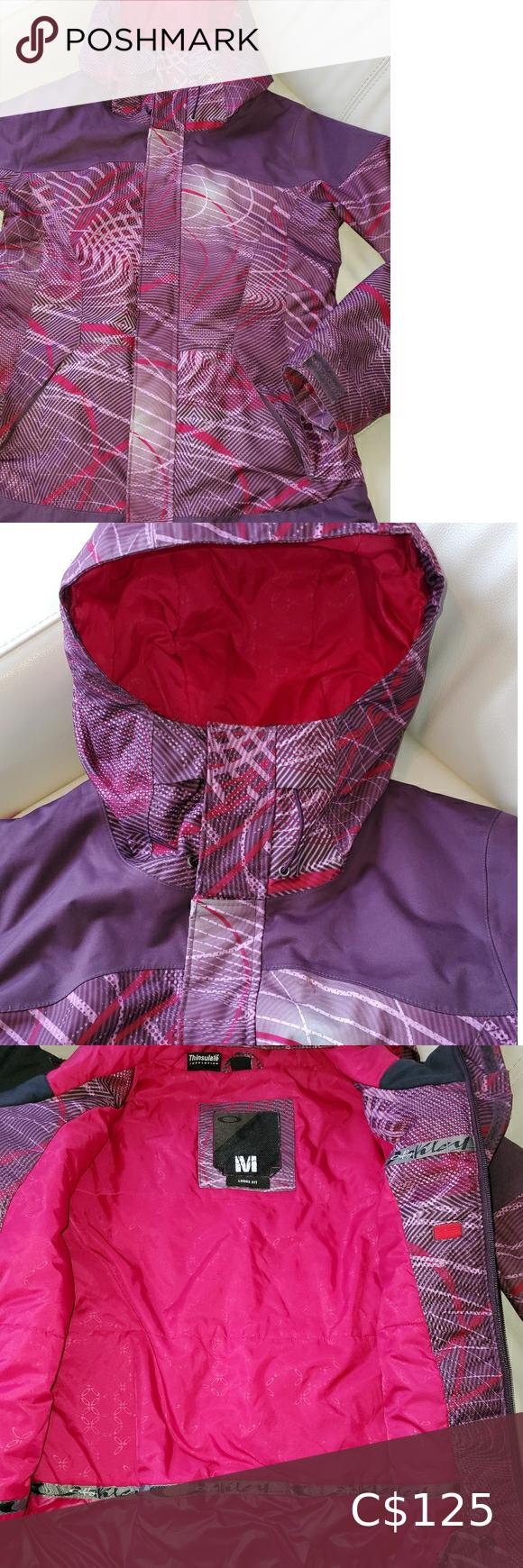 Oakley purple/pink winter coat very warm like new
