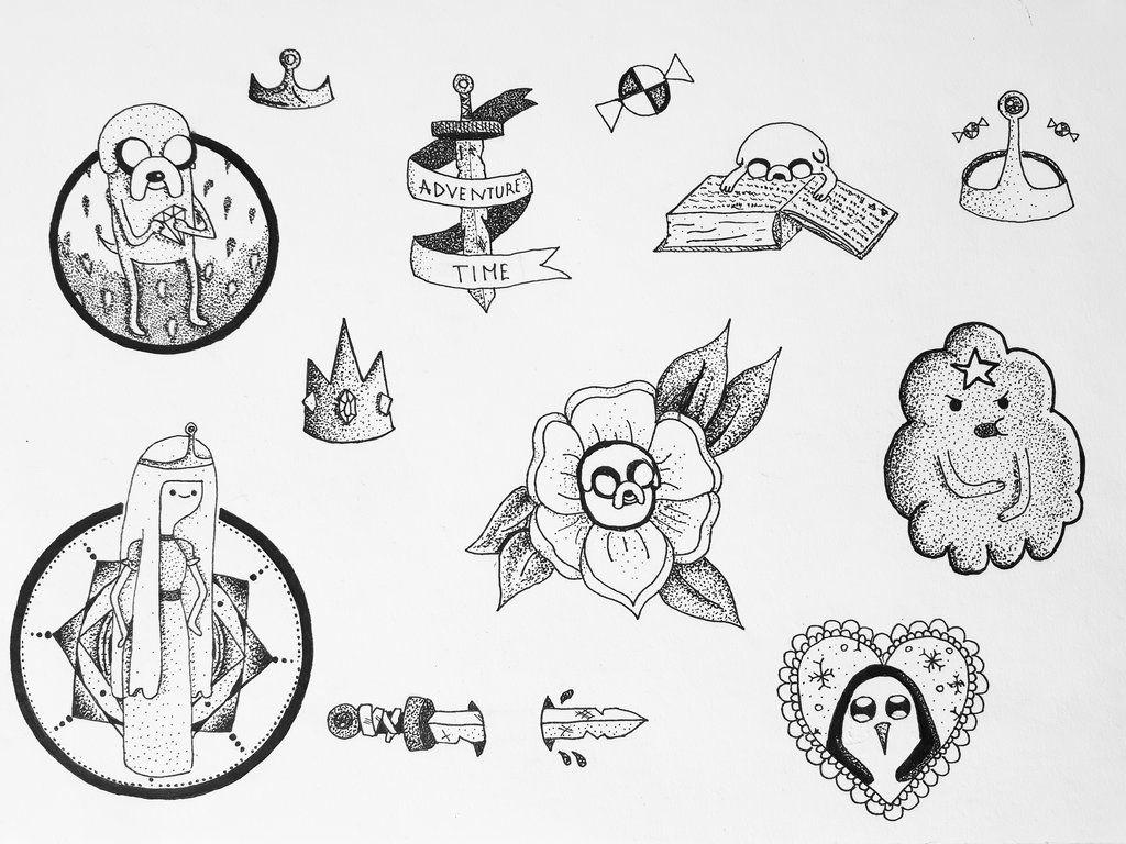 Znalezione Obrazy Dla Zapytania Adventure Time Tattoo Black Adventure Time Tattoo Time Tattoos Deviantart Tattoo