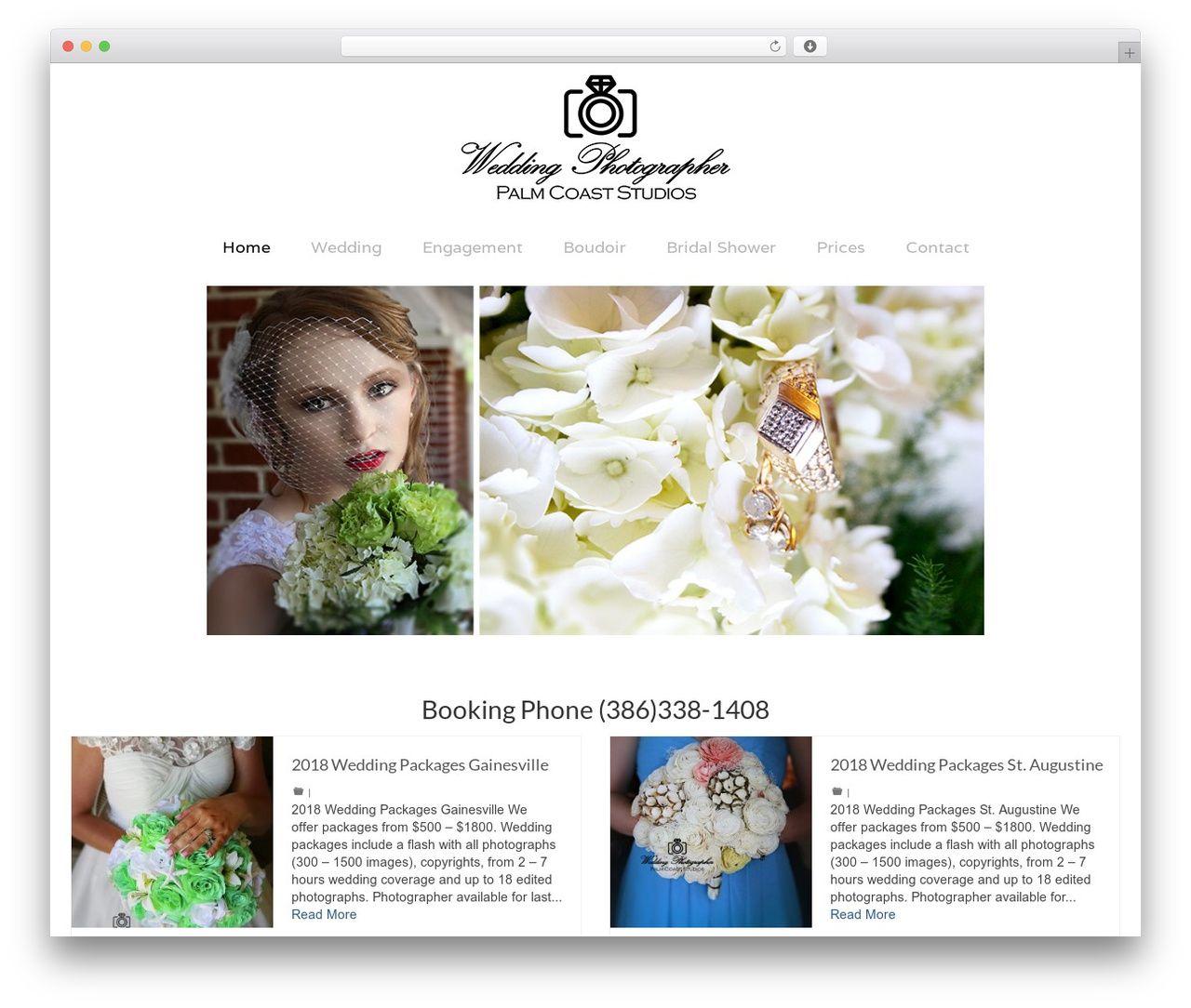 Outstanding Wordpress Wedding Theme Festooning - The Wedding Ideas ...