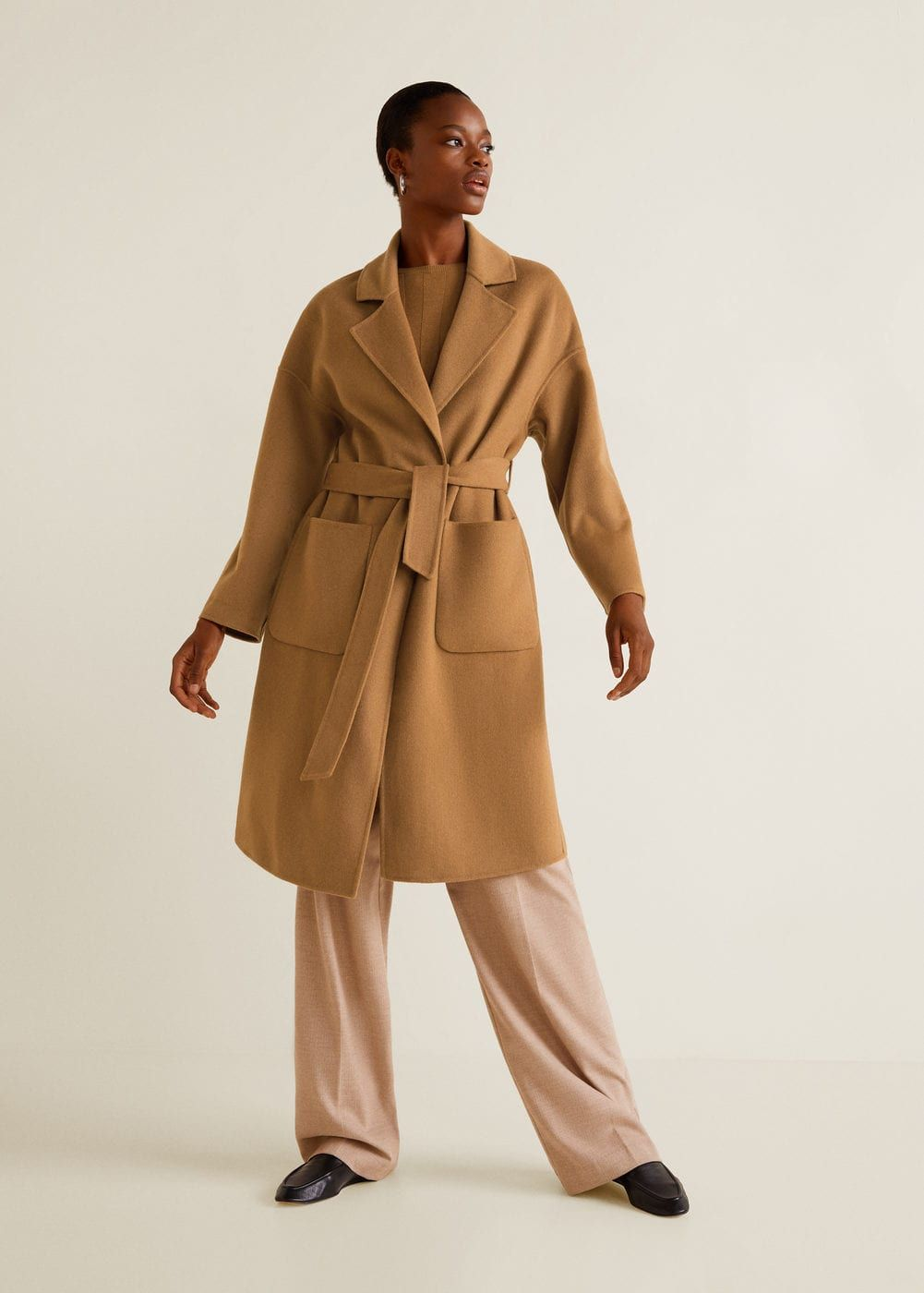 Unstructured wool-blend coat - Women in 2018  1e0614e2f