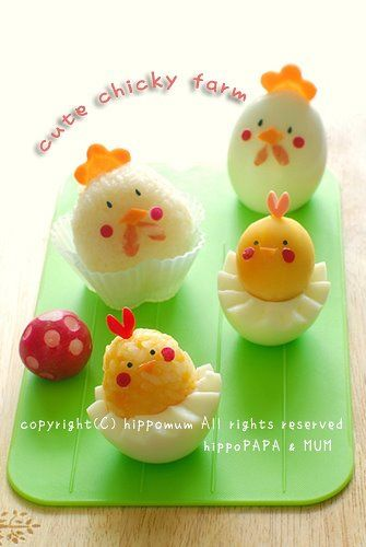 Cute chicky farm   #food #bento #chick