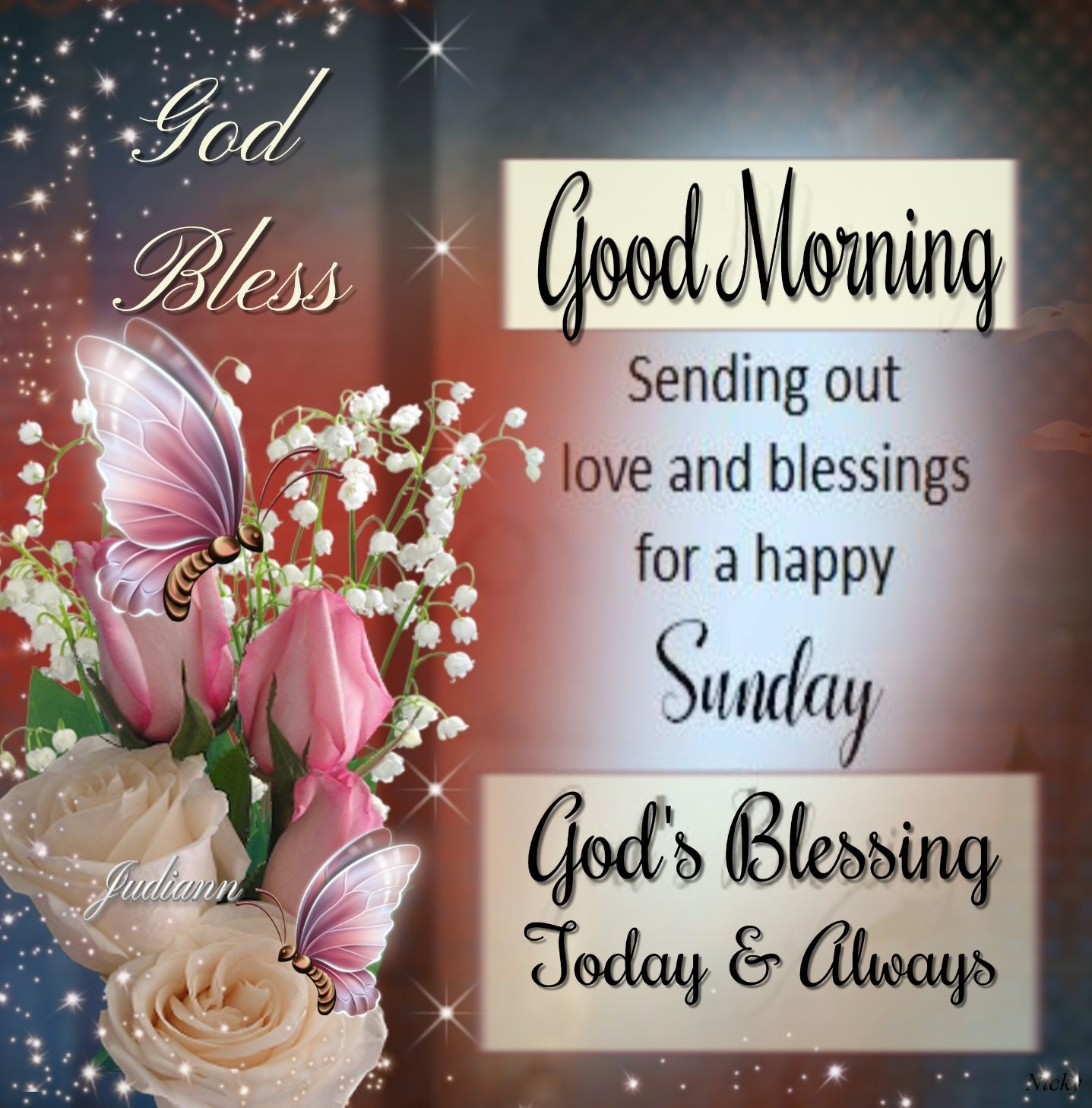 20J Sunday GoodMorning Blessing   Good morning happy sunday ...