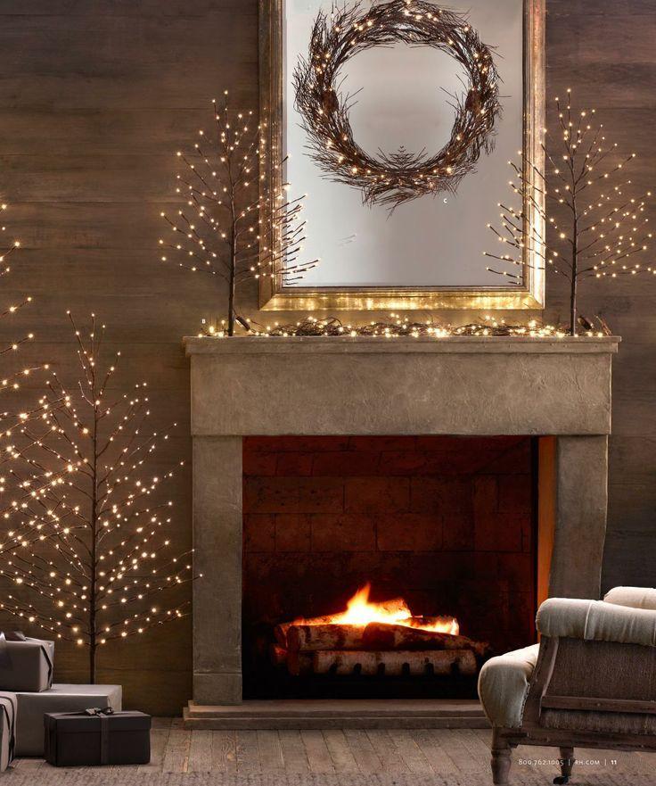 Pin By Cain Construction Designs On Seasonal Decor Pinterest Restoration Hardware Christmas Decor Decor Christmas Inspiration