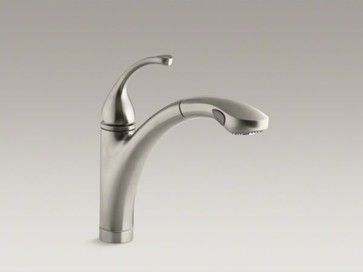Kohler Fortr Singlehole Or 3Hole Kitchen Sink Faucet With 101 Entrancing Single Hole Kitchen Faucet Design Inspiration