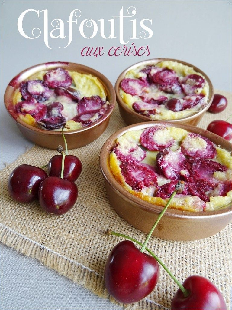 Clafoutis Aux Cerises Thermomix Food Thermomix Desserts