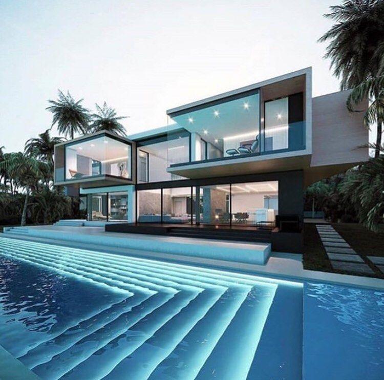 Luxurious Modern Houses On Instagram Luxuriousmodernhouses I The Best Interior Exterio Ocean House House Architecture Design Modern Architecture House