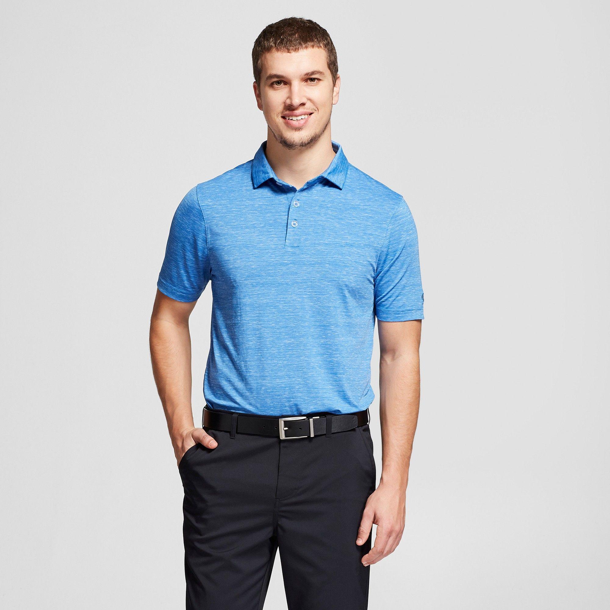 df5142bf3 Men's Spacedye Tech Polo Shirt - C9 Champion Summer Sky Blue Xxl ...