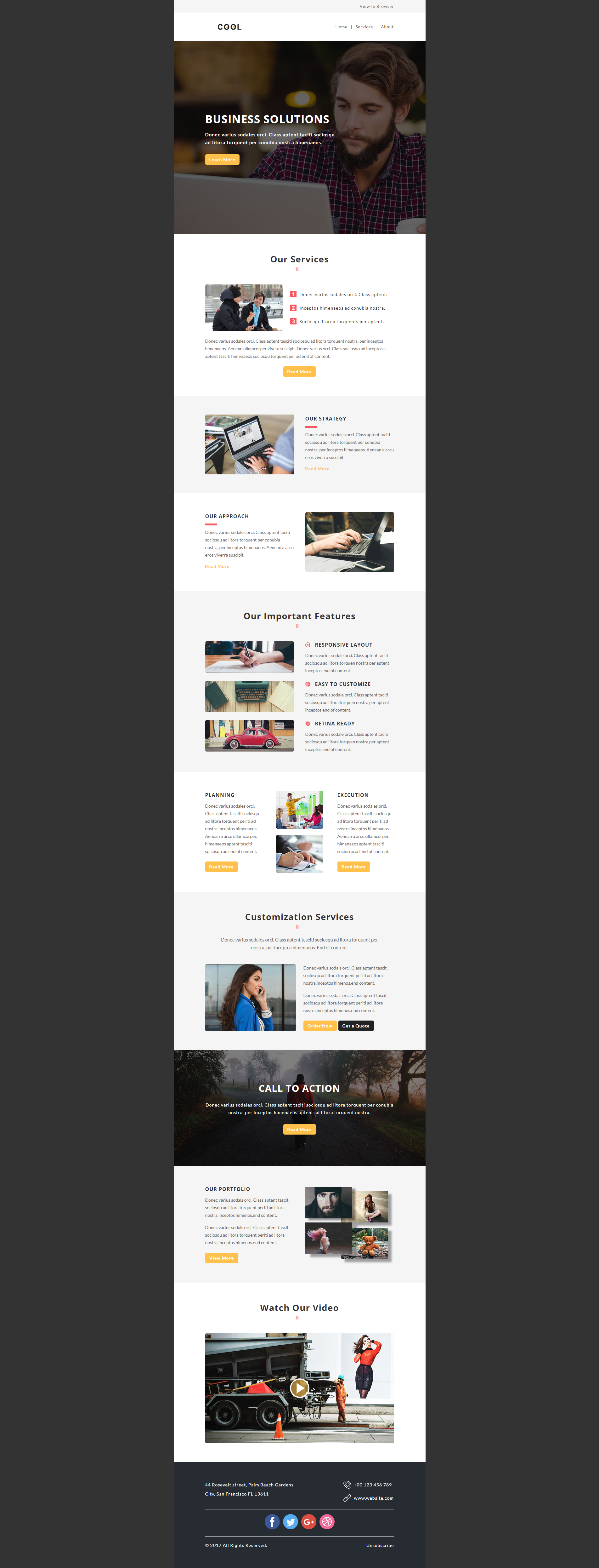 Design email template,html newsletter,html email campaign | Email ...