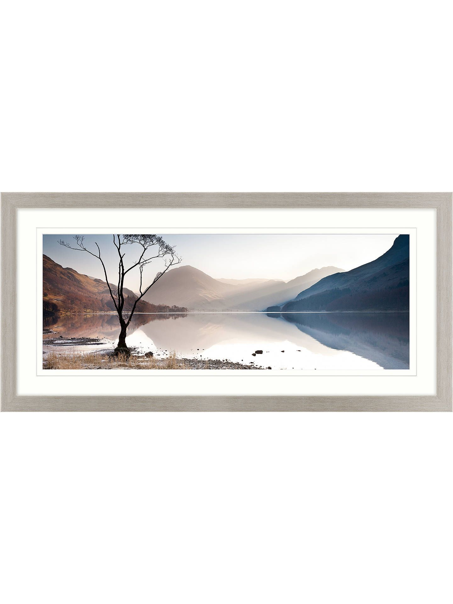 James Bell Buttermere Tree Framed Print & Mount, 52 x