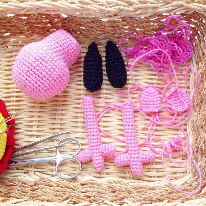 Peppa Pig Free Crochet Pattern Pinterest Amigurumi Kleidung