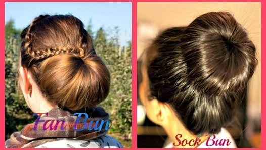 Pin By Lauren Pruss On Hair In 2020 Hair Bun Tutorial Hair Videos Tutorials Hair Tutorial