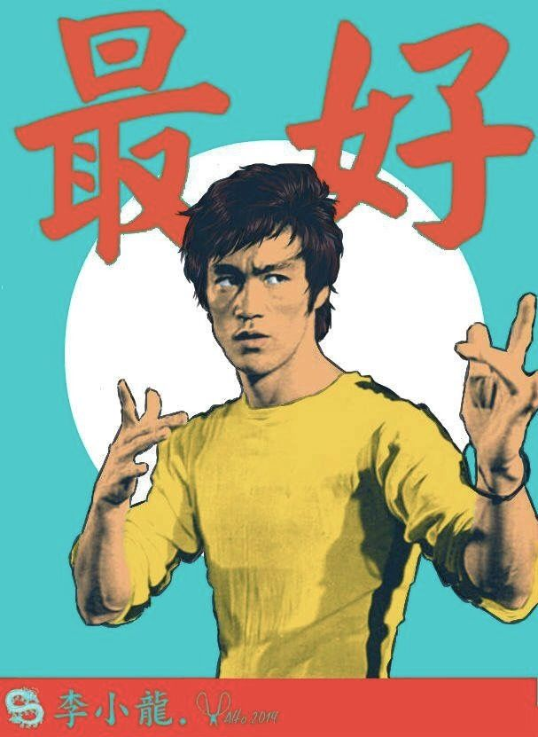 5660bfb5261317 Bruce Lee art | Boys room redo | Bruce lee art, Bruce lee poster ...