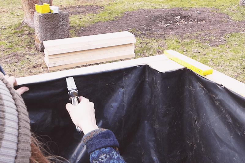 Hochbeet Aus Holz Selber Bauen Einfache Bauanleitung Hochbeet Hochbeet Holz Und Hochbeet Bauen