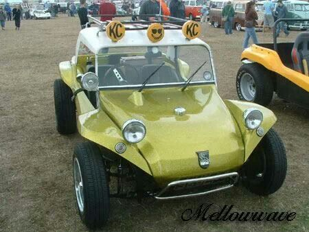 British Meyers Manx.  This set up is very nice with the tach in the hood, hard top, roof rack and KC daylighters!