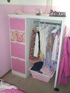 dress up storage & dress up storage | For my little lady | Pinterest | Storage ...