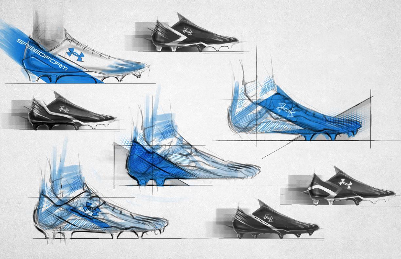 Under Armour Soccer Memphis Shoe Design Sketches Sports Design Inspiration Shoe Sketches