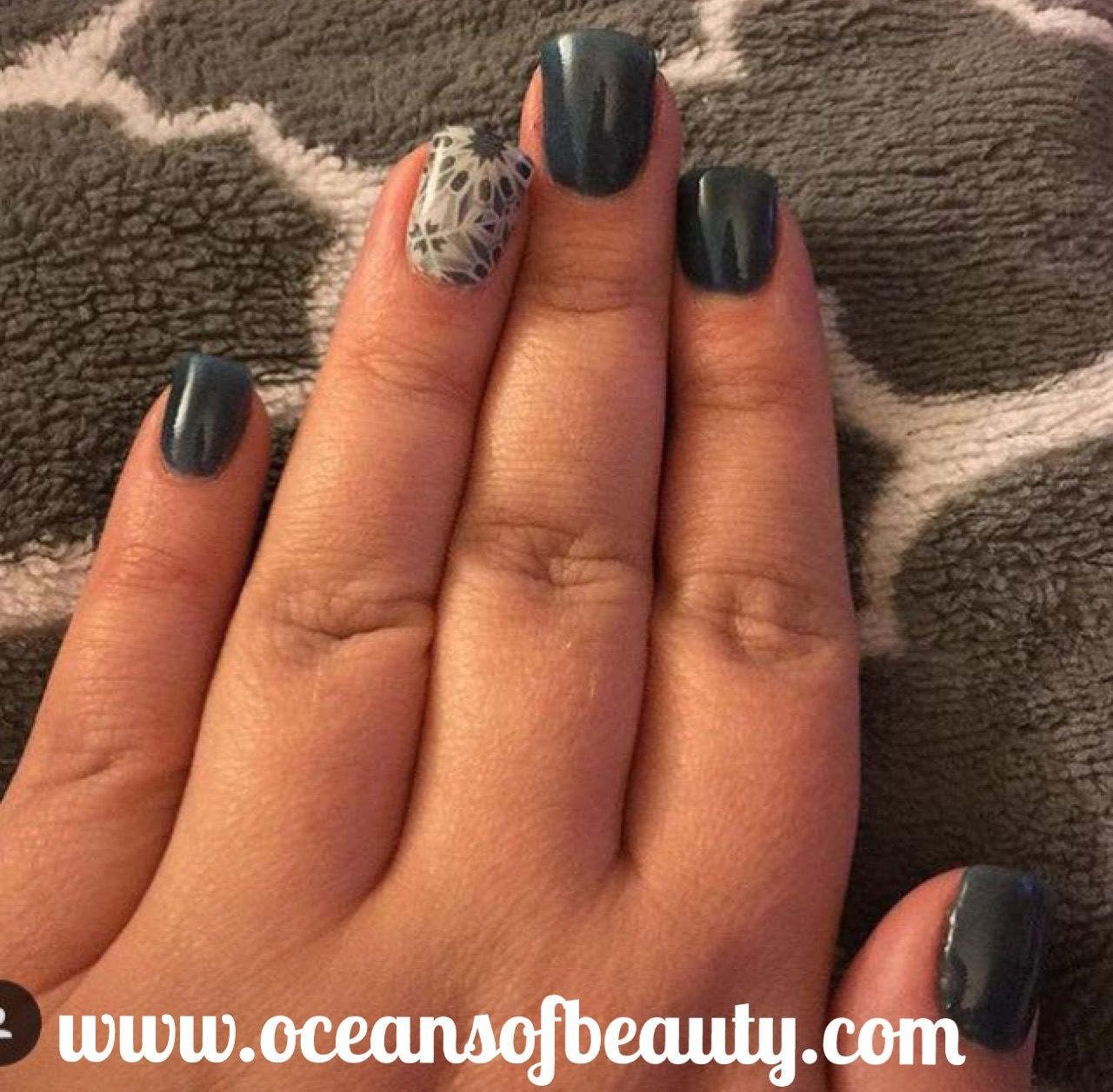 P.50 & Jamberry accent nail EZdip Gel Powder. DIY EZ Dip. No lamps ...