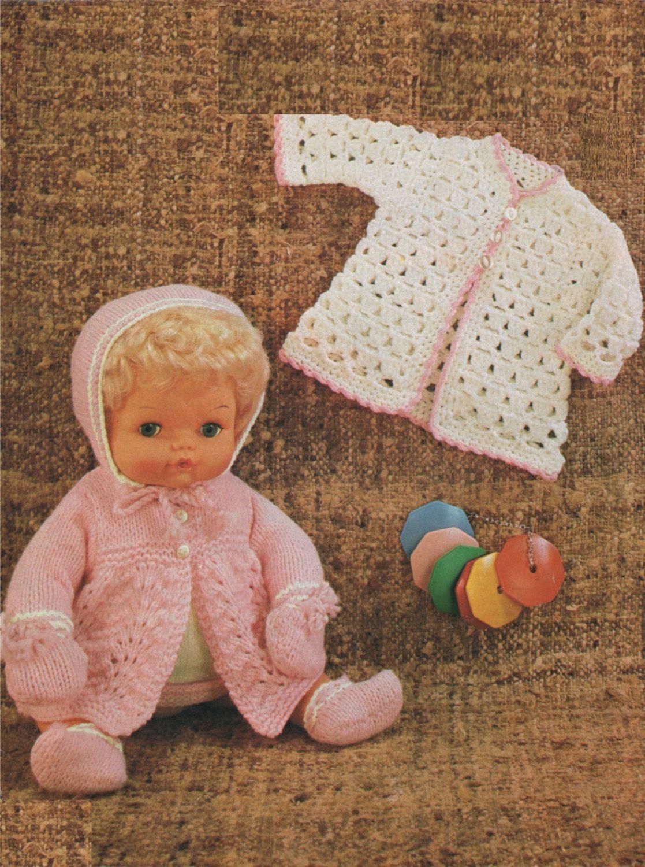 V Doll 12 14 inch Baby Dolls clothes crochet pattern.